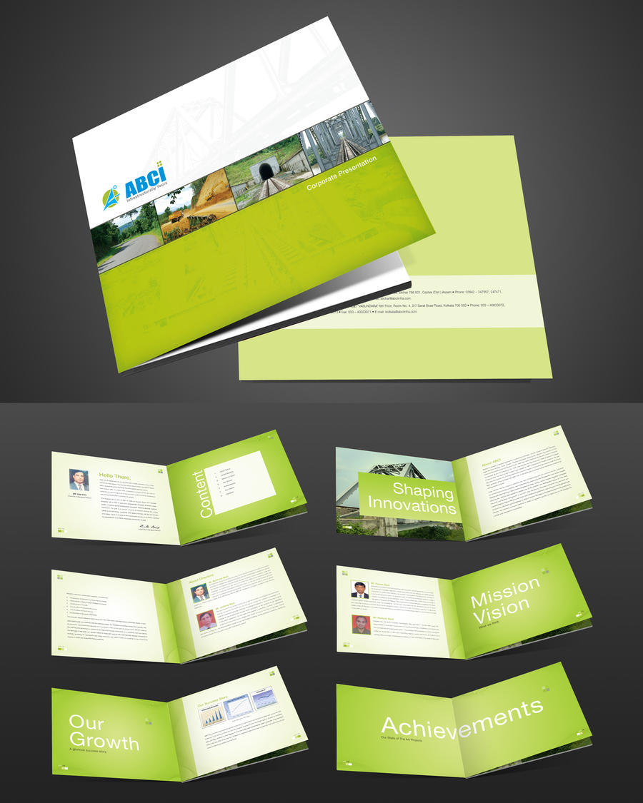 Abci corporate brochure by captonjohn on deviantart for Brochure design layout ideas