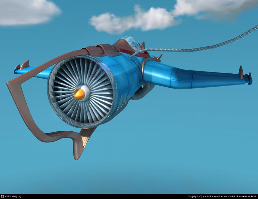 Fantasy Jet - I by captonjohn