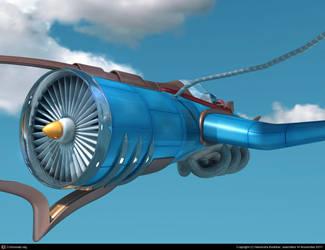 Fantasy Jet - II by captonjohn