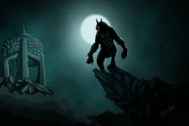 Evil in night 2 by captonjohn