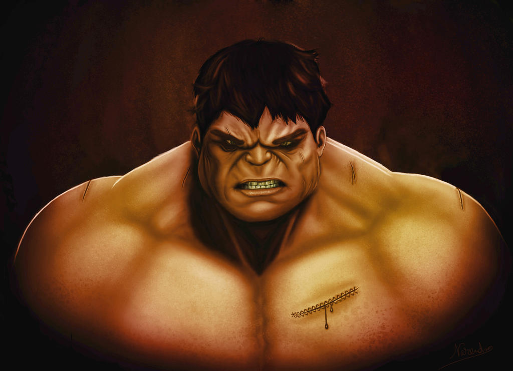 Hulk red by captonjohn
