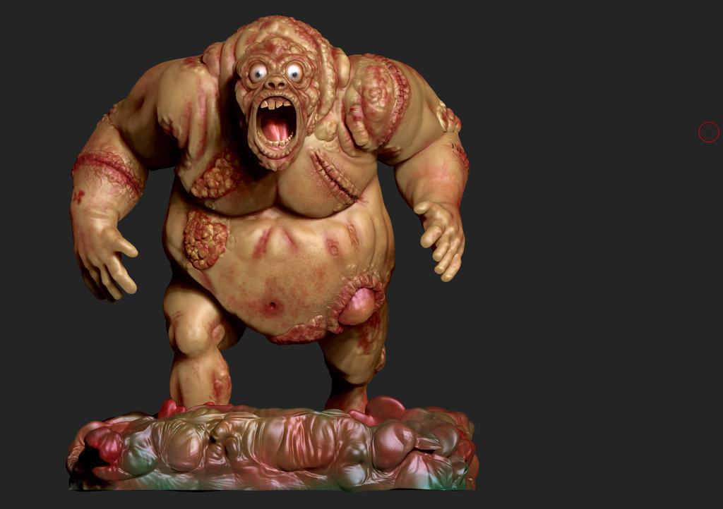Zombie by captonjohn