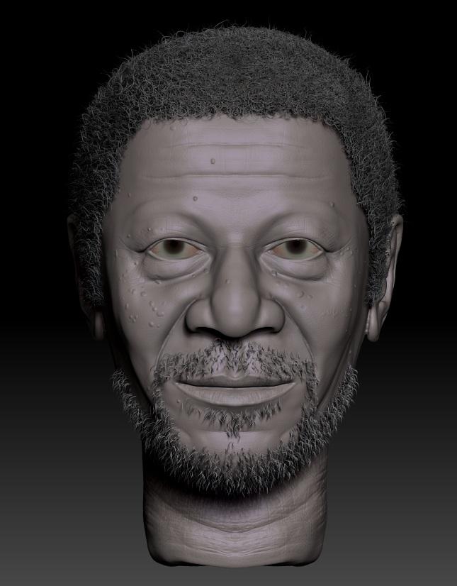 Face sculpt by captonjohn