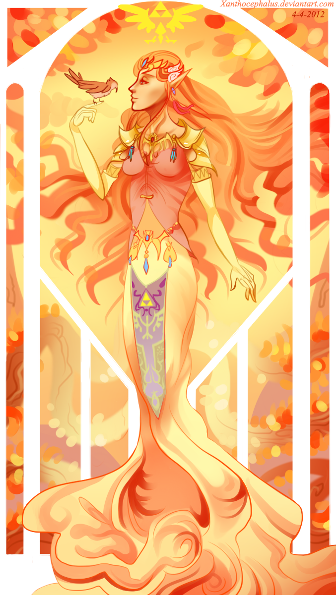 Princess Zelda by Xanthocephalus