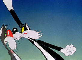 Sylvester and the Drunk Cat