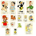 Looney Tunes 1939 Book Characters