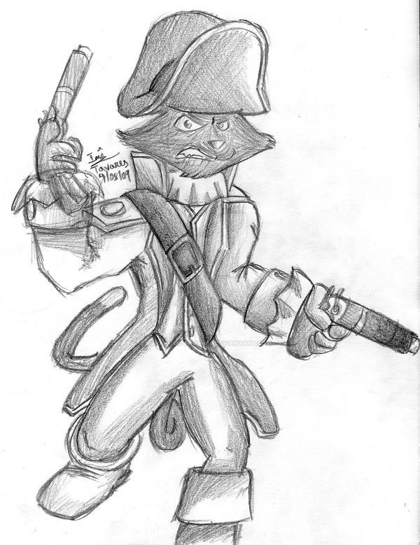 Captain Claw by Haruka-Tavares