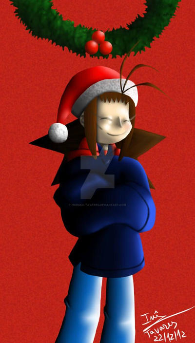 Haruka - Merry Christmas by Haruka-Tavares