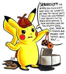 (Gift) Complaining Detective Pikachu