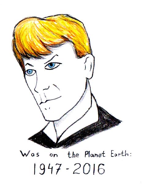 David Bowie by Goldyfox