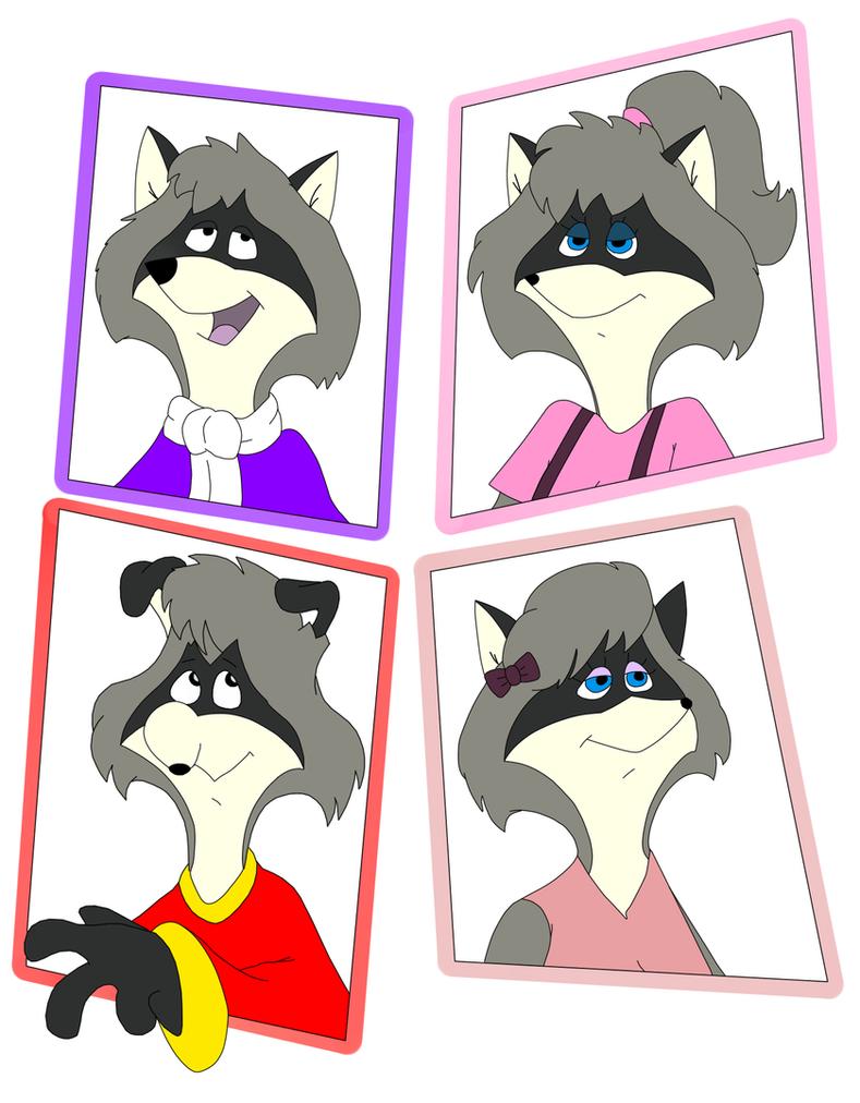 The Raccoons by Goldyfox
