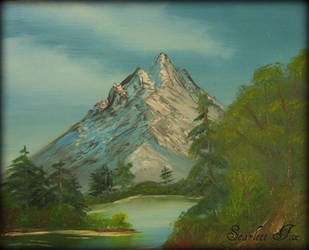 Mountain Serenity by Mechanikal-Animal