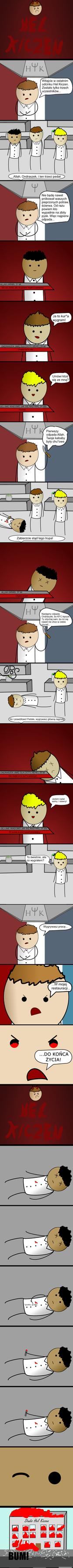 Hel Kiczen (parodia Hell's Kitchen) by Norxxq