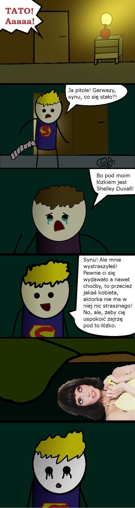 Shelley Duvall Komiks nr. 85 by Norxxq