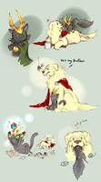 Dog Thor Cat Loki
