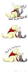 DogThor CatLoki...Imma kill you by LittleDarkDragon