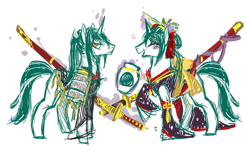 Pony? Horse? by LittleDarkDragon