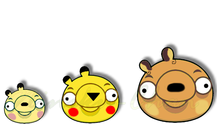 angry birds pig pikachu -#main