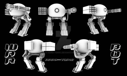 WAR-BOT model sheet by hard-tonic