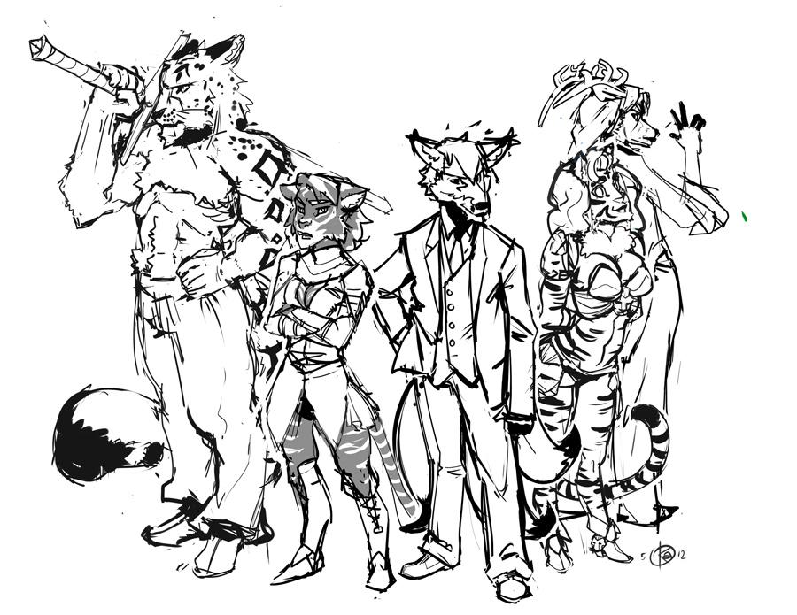 The seven gods by KennoArkkan