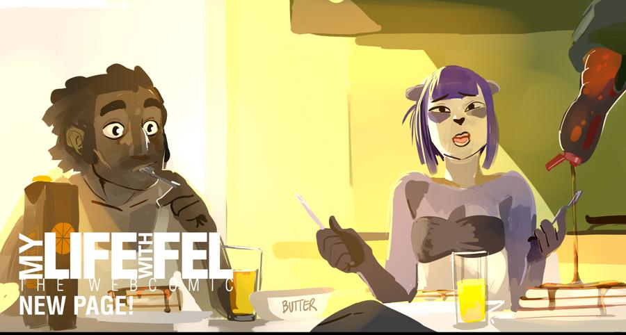 My life with Fel p277 by KennoArkkan