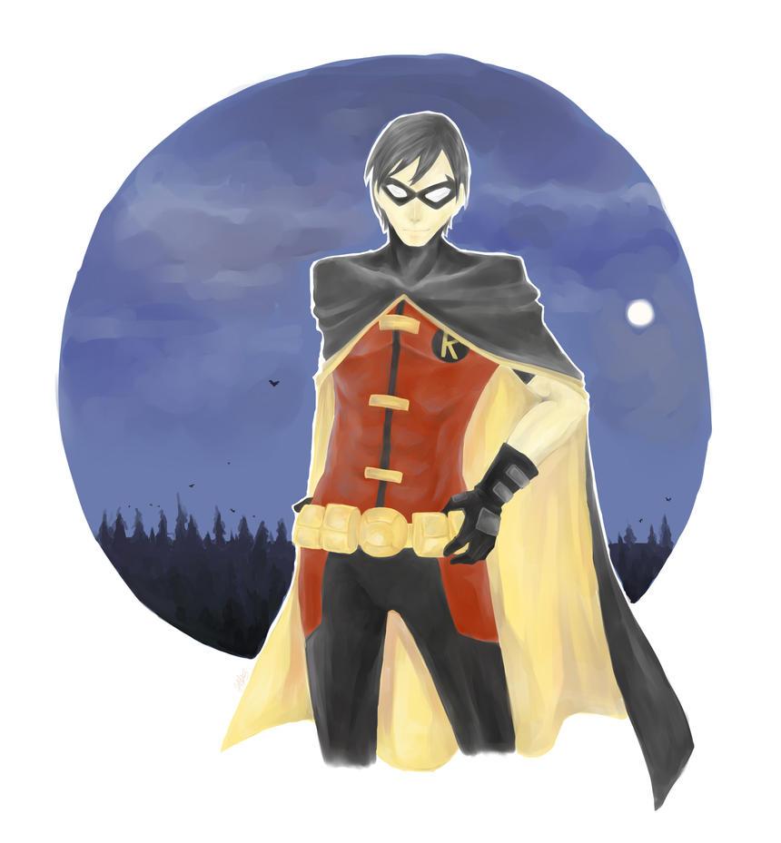 YJ: Robin by yaine