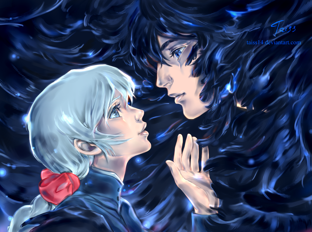 Howl and Sophie. by Taiss14 on DeviantArt  Howl and Sophie...