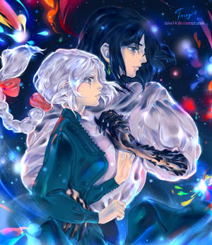 Illusion. Howl's moving castle fanart.