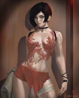 Ada Wong. (+NSFW optional) by Taiss14