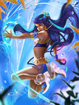 Fresh splash (Nessa). by Taiss14