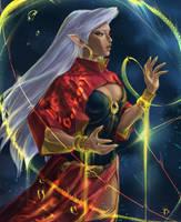 Aquarius. Zodiac series.