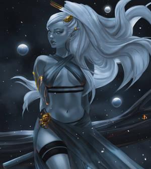 Virgo. Zodiac series.