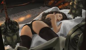 Lara (sleeping) (EXTRA NSFW optional).