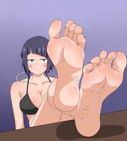 Kyoka Jiro feet