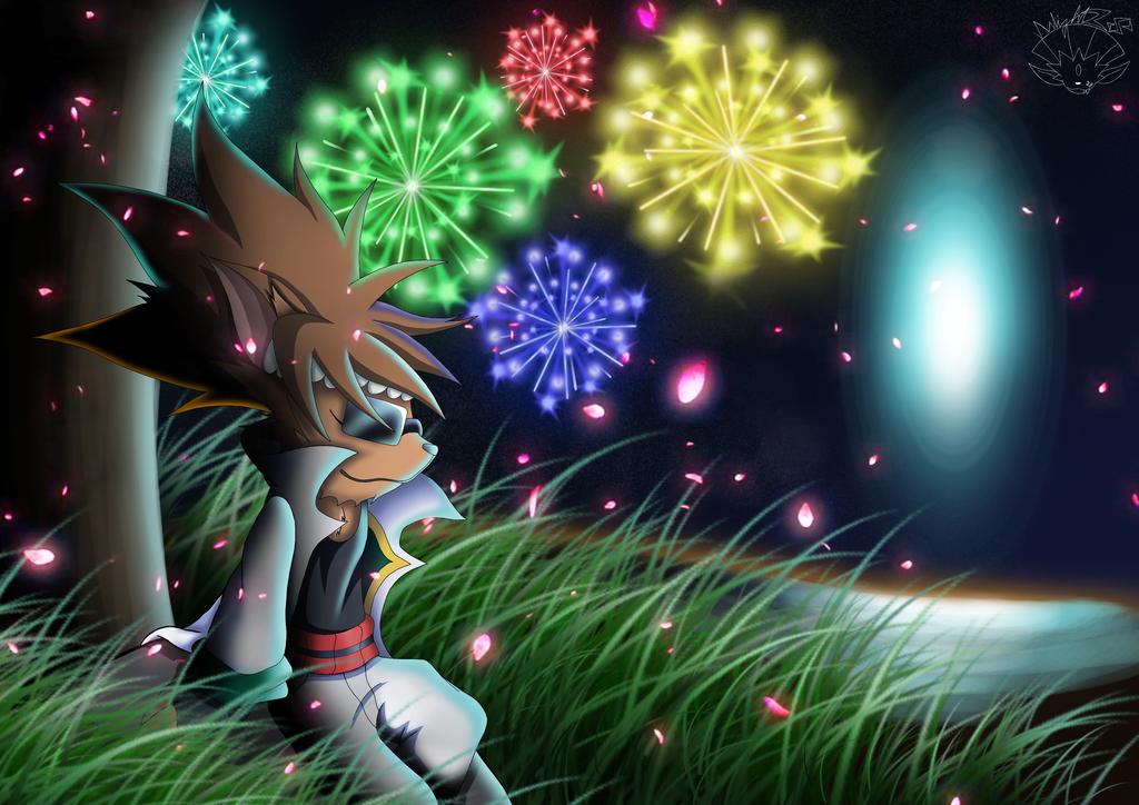Onishiba Weavile - Fireworks by sunlight28