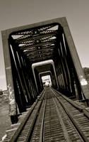 nose creek bridge ii by contemporaryhart