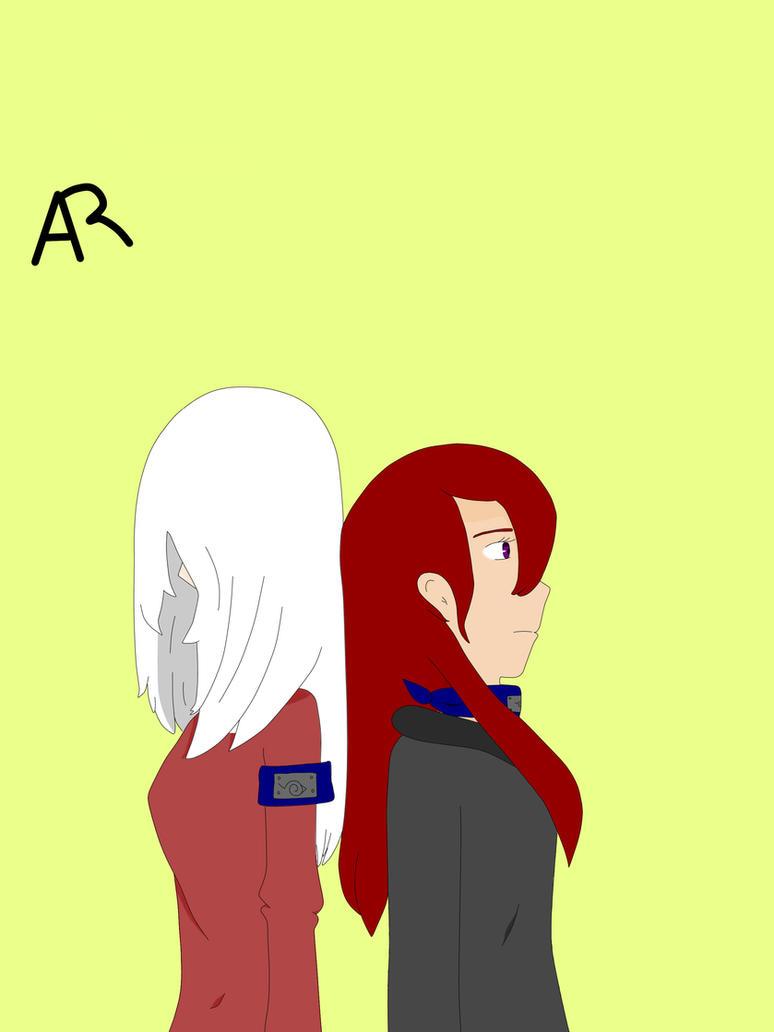 Naruto OC: Kaori y Mika by FlowerSide24