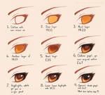 Copic Eye Tutorial
