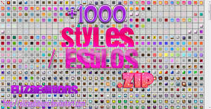 Pack de Styles .zip by ElizaEdiitions