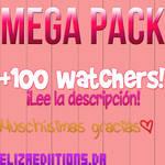+MEGA PACK +100 WATCHERS