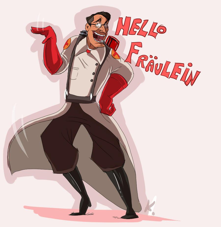 HELLO FRAULEIN by Konnestra