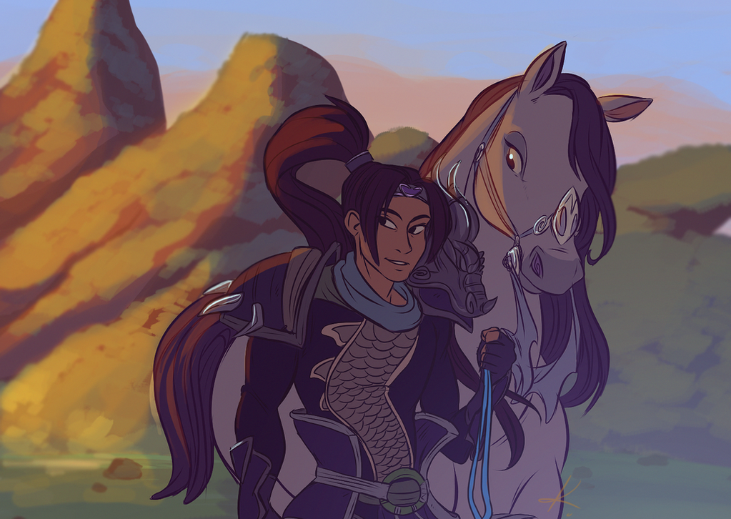 I listened to Mulan OST again by Konnestra