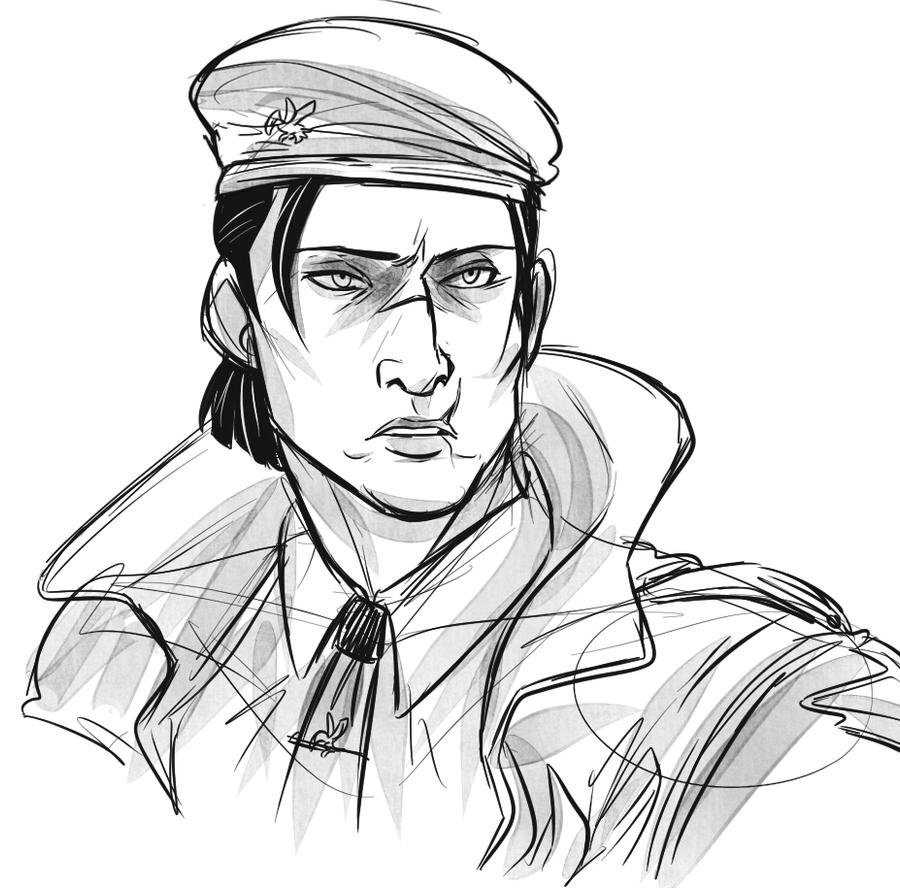 Sergei sketch by Konnestra