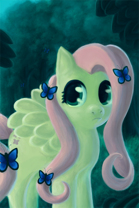 Fluttershy by Luminela
