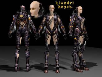 Liandri Angel Model for UT2004 by EvilEngine