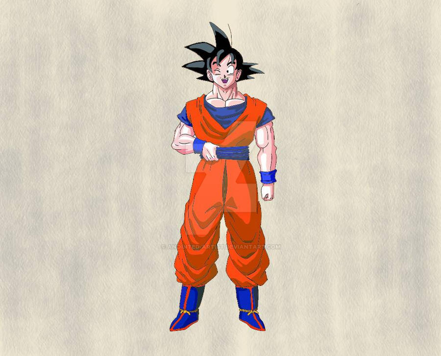 son goku  by Anointed-Artist