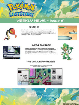 Pokemon Lost Story - Weekly News - Issue #1