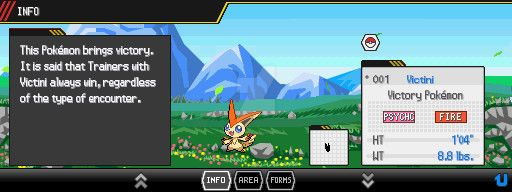 Pokemon Lost Story - New Pokedex info HUD by magickid1234