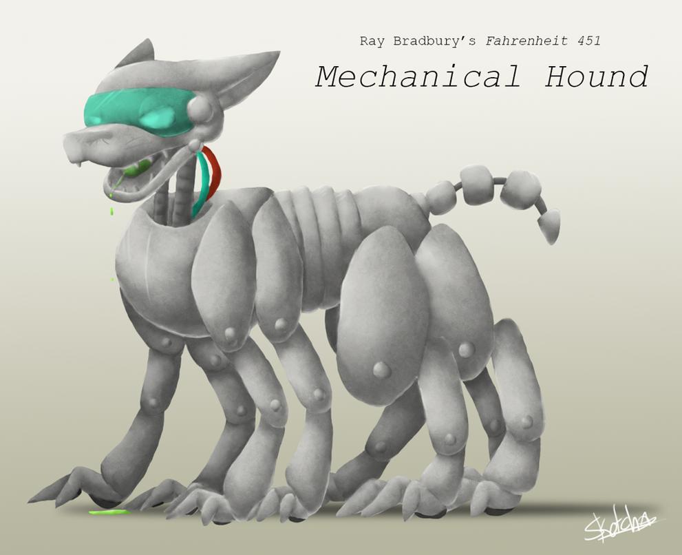 The Mechanical Hound by SonicSketch on DeviantArt  Fahrenheit 451 Mechanical Hound Movie