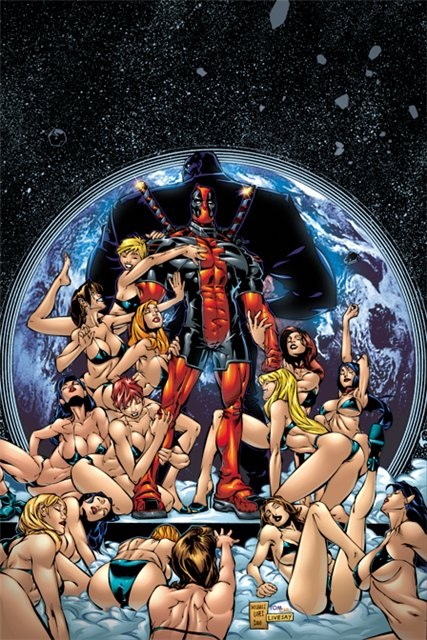 Look for deadpool with girls remarkable, valuable